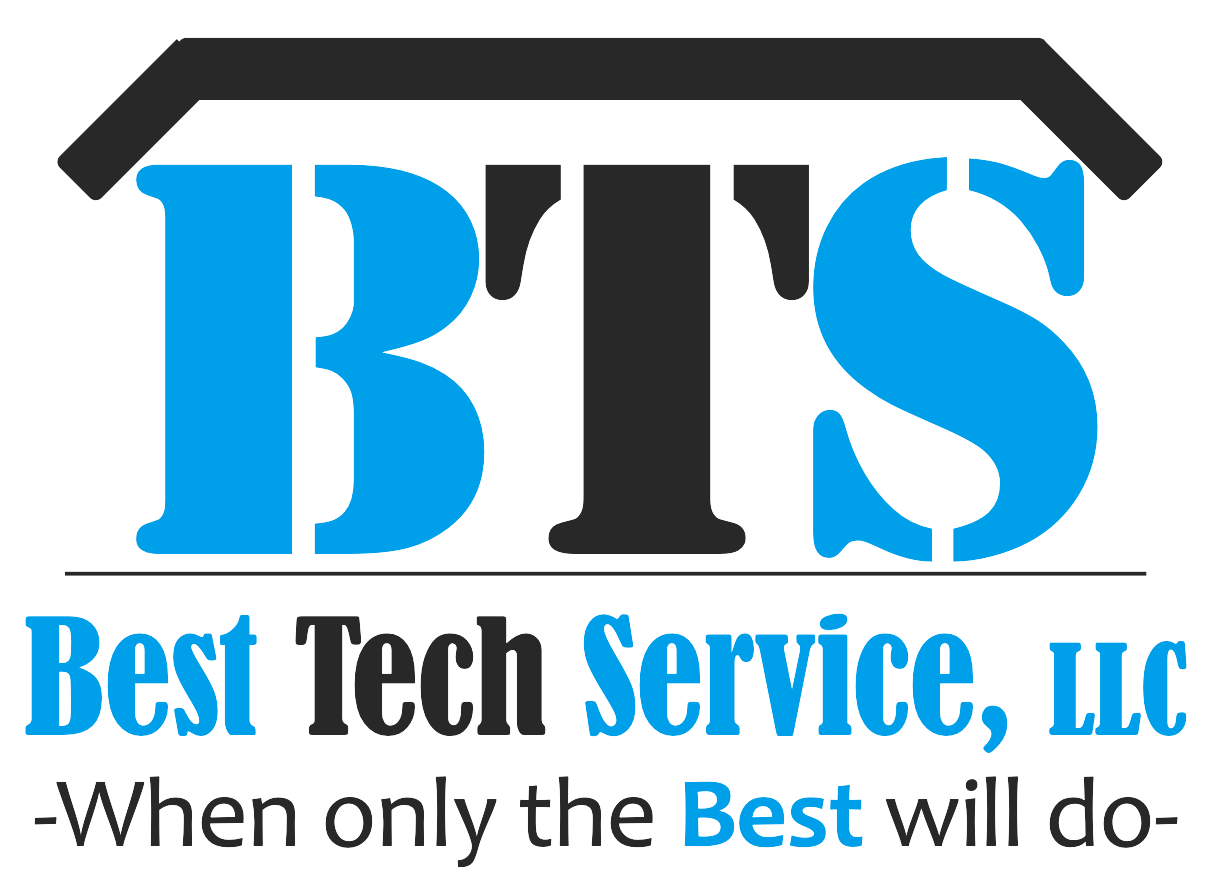 Best Tech Service, LLC. -When only the Best will do- logo